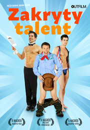 Zakryty talent - plakat
